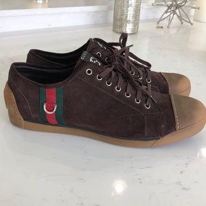 Gucci Shoes - Men's Gucci suede sneaker size 12